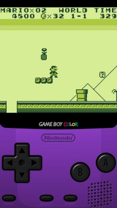 Auf dem iPhone spielbar: Gameboy-Klassiker Super Mario Land. (Screenshot: t3n)