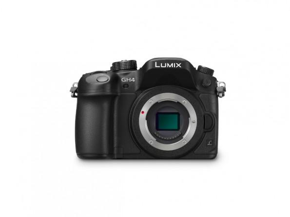Die neue Lumix DMC-GH4 kann als erste Systemkamera Videos in 4K-Auflösung aufzeichnen. (Quelle: Panasonic)