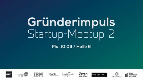 Netzwerken für Startups und Gründer: Beim Startup Meetup auf der CeBIT. (Bild: Eventbrite)