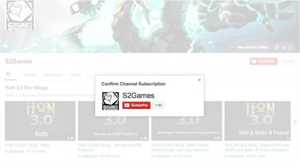 Wer diesen YouTube-Kanal aufruft, kommt ums Abonnieren kaum herum. (Screenshot: YouTube)