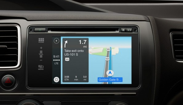 Apple: CarPlay verbindet euer iPhone mit eurem Auto. (Screenshot: Apple)