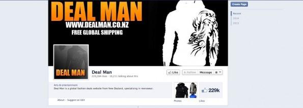 E-Commerce: Mit dieser Facebook-Seite realisierte ein junger Neuseeländer Millionenumsätze. (Screenshot: Facebook)