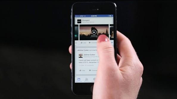 Daran werden sich Nutzer in Zukunft gewöhnen müssen: Video-Anzeigen bei Facebook. (Screenshot: Facebook)