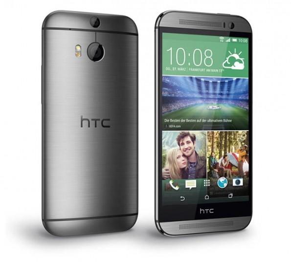 Das neue HTC One (M8): HTC bleibt seiner Linie treu. (Bild: O2)