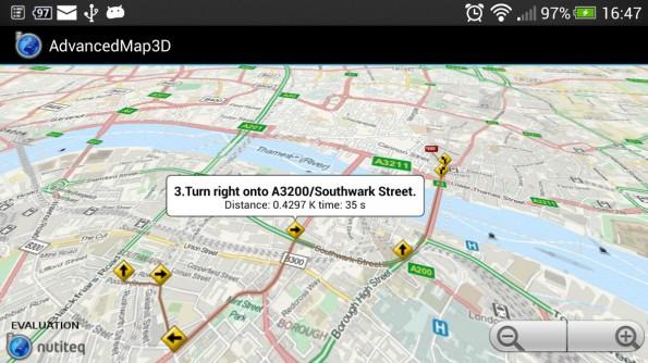Nutiteq bietet euch ein SDK, das auch Offline-Mapping erlaubt. (Screenshot: Nutiteq)