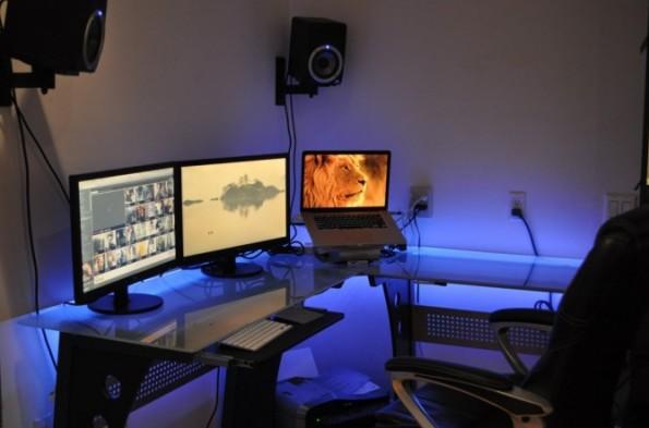 Raspberry Pi: Ihr bestimmt die Farbe in diesem Büro. (Foto: William Wnekowicz)