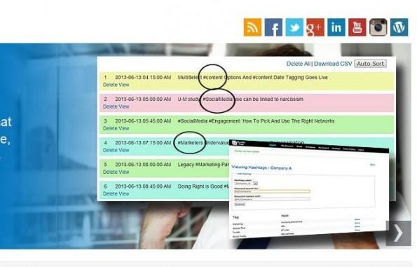 Bundle Post sucht nach den passenden Hashtags für euren Content und fügt diese automatisch hinzu. (Screenshot: Bundle Post)