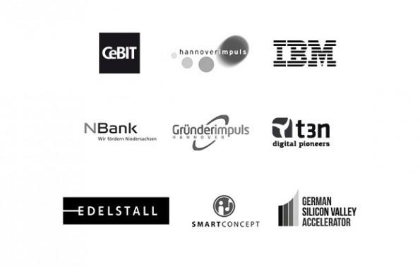 Das Startup Meetup auf der CeBIT wird von zahlreichen Sponsoren unterstützt. (Screenshot: Eventbrite)