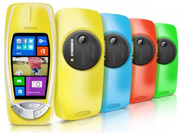 Nokia 3310 mit PureView-Kamera: Aprilscherz mit Retro-Charme. (Bild: Nokia)