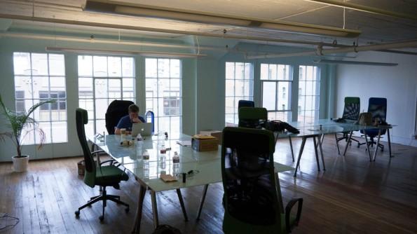 In diesem Büro arbeitete das Team von Buffer bis zuletzt. Voll war es jedoch nie. (Foto: Moritz Stückler)