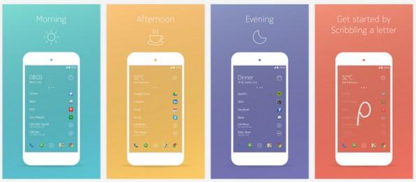 Auch Nokia bietet einen interessanten Android-Launcher an. (Screenshot: Play-Store)