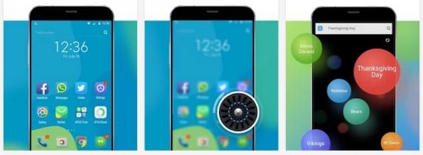 Android-Launcher: Der Apus Launcher soll vor allem schnell sein. (Screenshot:  Play-Store)
