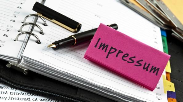 Die Impressumspflicht: Lästig, aber nicht so schlimm wenn du weißt was zu tun ist. © fuzzbones - Fotolia.com