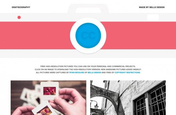 Hochwertige und kostenfreie Bilder – Gratisography. (Screenshot: gratisography.com)