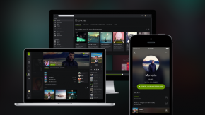 Spotify mit großem Redesign: Düster, schick, sozial