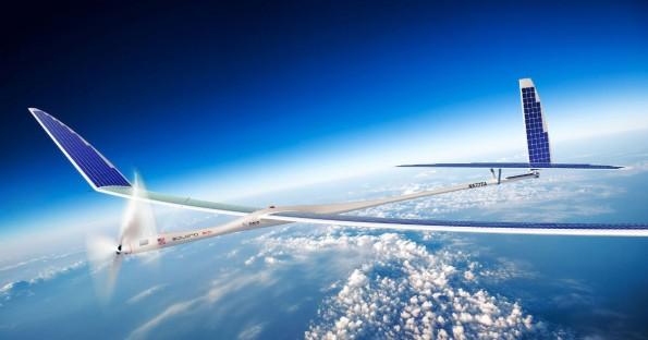 """Titan Aerospace will 2015 seine erste marktreife Drohne """"Solara 50"""" fertigstellen."""