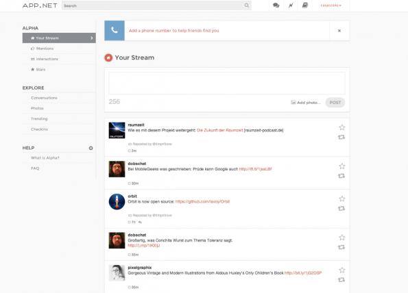 App.net – Die Social-Media-Plattform konnte deutlich mehr als der von vielen bekannte Twitter-Klon Alpha. Die Macher mussten jetzt leider alle freien Mitarbeiter entlassen.