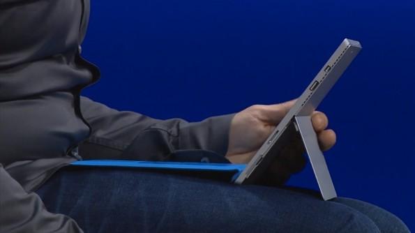Das Surface Pro 3 verfügt über eine Möglichkeit, Tastatur und Tablet zu verbinden. (Screenshot: Microsoft.com)