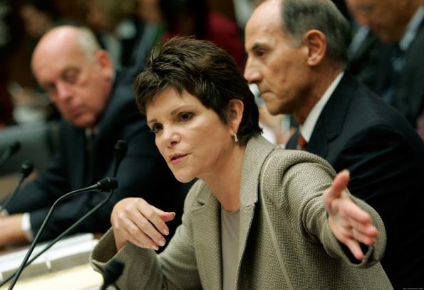 Gemeinsam mit HP-CEO Mark Hurd sorgte die Vorsitzende Patricia Dunn für einen Spitzel-Skandal. (Foto: © Mark Wilson)