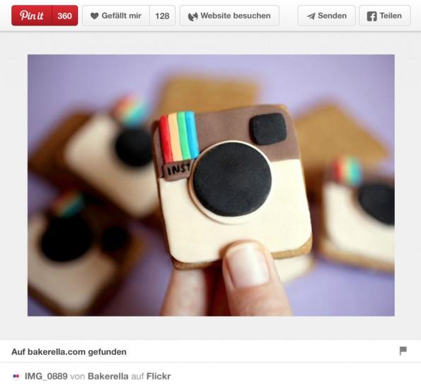 Um sich auf Pinterest durchzusetzen, muss ein Foto hochwertig sein und am besten etwas Besonderes haben. (Screenshot: Pinterest)