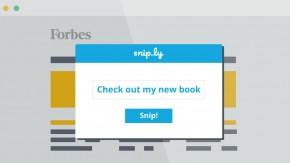 Snip.ly: Der URL-Shortener, der dir mehr Social Conversions bringt – und viele großartige Features
