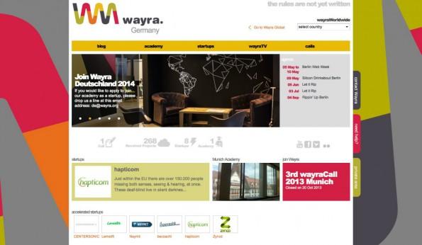 Für 50.000 Euro Startkapitel nimmt Wayra bis zu zehn Prozent der Startup-Anteile. (Screenshot: t3n)