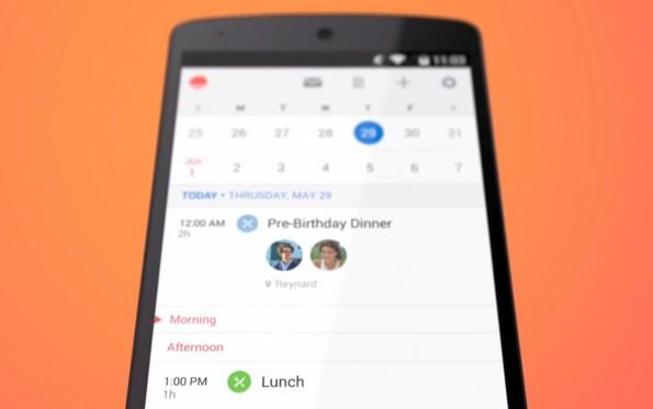 Mit Sunrise für Android ist kürzlich eine für iOS beliebte Kalender-App auch für Googles Betriebssystem erschienen. (Bild: Sunrise)