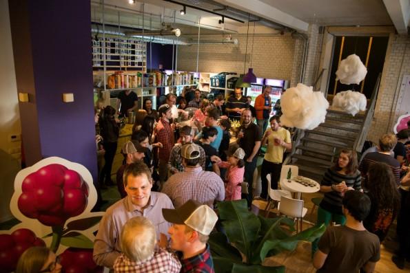 Das Wooga-Headquarter in Berlin: Immer noch Treffpunkt für die Startup-Szene. (Foto: Wooga)