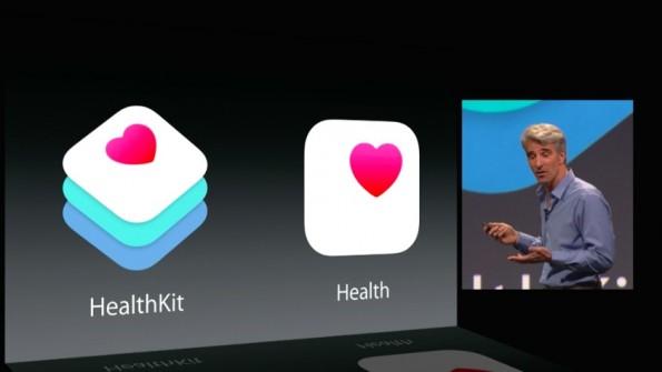 Health Kit und die neue Health App. (Screenshot: Apple)