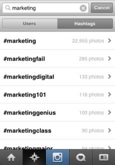 (Screenshot: Instagram-App von meinem iPhone)
