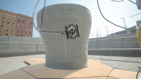 """Robotik trifft 3D-Druck: """"Minibuilders"""" bauen Häuser, wie du sie noch nie gesehen hast"""