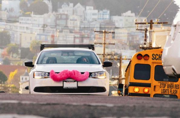 Lyft und Uber bestimmten in San Francisco den Individualverkehr. (Foto: Lyft)