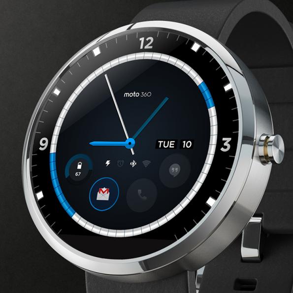 Zur Google I/O 2014 werden eine Reihe neuer Smartwatches erwartet. (Quelle: plus.google.com/+Motorola)