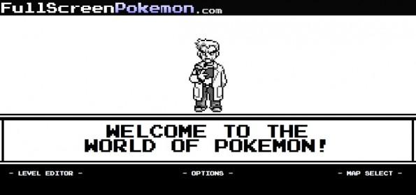 Prokrastination leicht gemacht: Full Screen Pokemon.