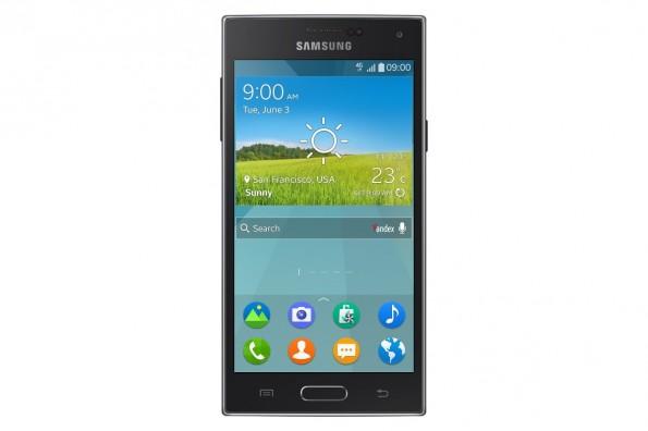 Samsung Z: Das erste Smartphone auf Tizen-Basis. (Bild: Samsung)