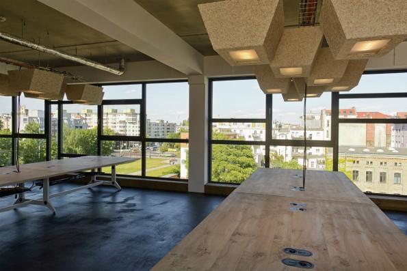 SoundClouds Büro in der Berliner Factory: Hohe Personal- und Marketingkosten haben den großen Verlust in 2014 verursacht. (Foto: SoundCloud)