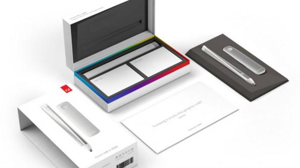 Den Stift Ink und das Lineal Slide verkauft Adobe derzeit nur im Set. (Bild: Adobe)