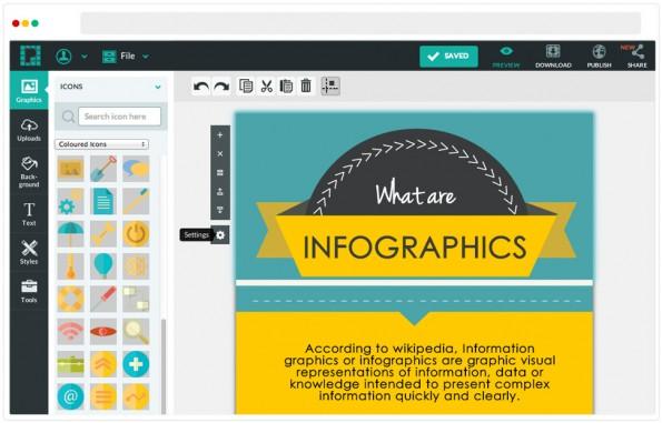 Infografiken sind enorm hilfreiche Werkzeuge im Content-Marketing. (Bild: Piktochart)