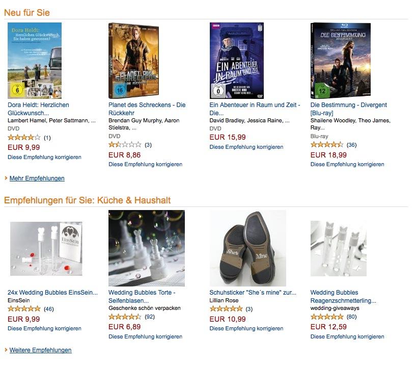 Kundenbindung wie Amazon durch persönliche Produktempfehlungen