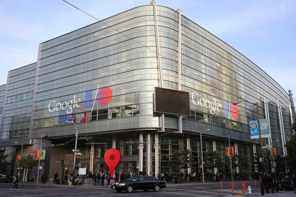 """Der Veranstaltungsort der Google I/O ist das """"Moscone West"""" in Downtown San Francisco. (Quelle: Zimbio.com)"""