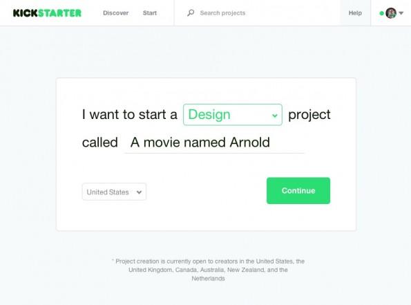 Der Teufel steckt im Detail: Im Kleingedruckten steht, dass Kickstarter bisher keine Projekte aus Deutschland akzeptiert. (Screenshot: kickstarter.com)