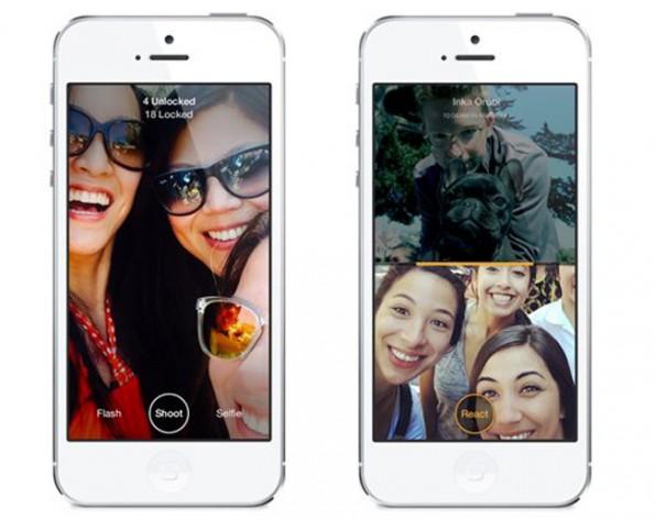 Bei Slingshot von Facebook können Nutzer erst dann eine eintreffende Nachricht sehen, wenn sie selbst eine Nachricht zurückgesendet haben.