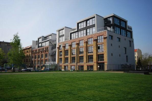 Außenansicht des Berliner Startup-Campus. (Foto: Factory Berlin)