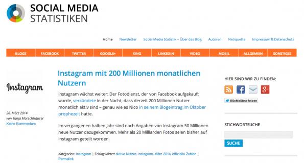 """t3n-Blogperlen – Social Media #3: """"Social Media Statistiken"""""""