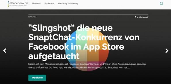 """t3n-Blogperlen – Social Media #5: """"Allfacebook.de"""""""