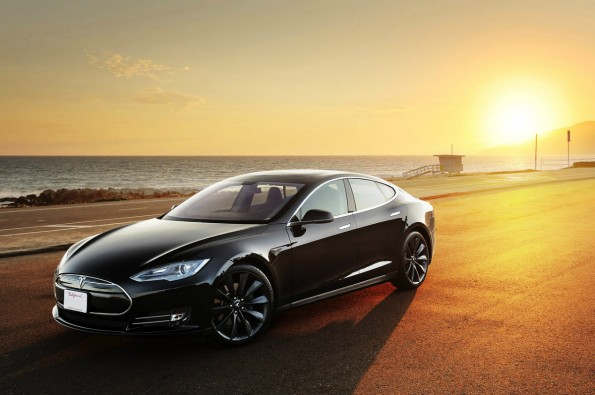 Tesla Model S wird Star der E-Rennserie Electric GT World Series. (Bild: Tesla Motors)