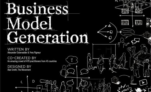 Das Titelblatt des Handbuchs von Alexander Osterwalder und Yves Pigneur. (Screenshot: businessmodelgeneration.com)