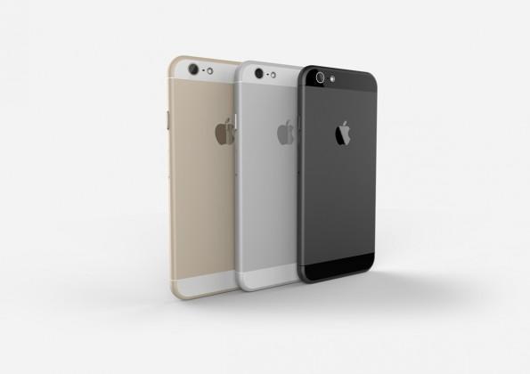 iPhone 6: Diese Renderings wurden auf Basis von Leaks und Gerüchten erstellt. (Bild: Tomas Moyano und Nicolàs Aichino / Behance)