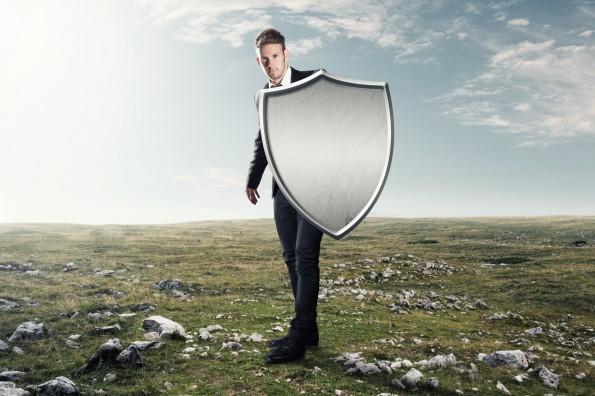 mann schutzschild