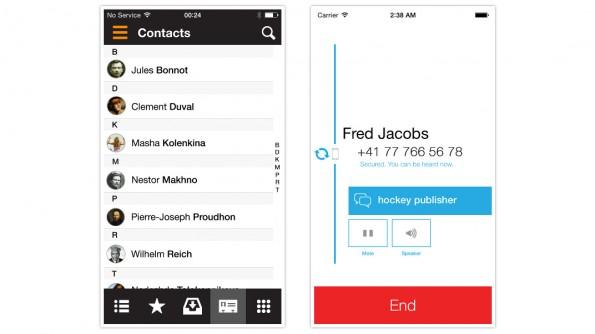 Signal: Neue Open-Source-App ermöglicht die Verschlüsselung von Telefonaten. (Screenshot: Open WhisperSystems)